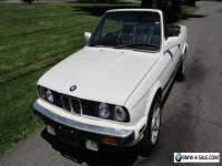 1988 BMW 3-Series convertible