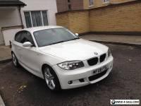 BMW 120d M Sport White 2008 3dr