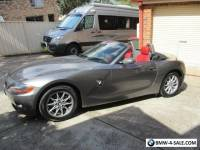 2004 BMW Z4 Convertible--no offer--FIRM