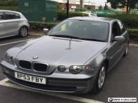 BMW 3 series (53 Reg) 3 Door 1796 cc Petrol, DRIVE VERY WEL