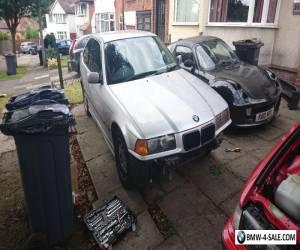 BMW 1999 E36 Compact 316i 1.9 Petrol Manual 9 Months MOT Project Drifter for Sale