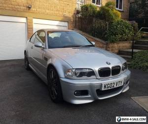 2002  BMW E46 M3 COUPE MANUAL SUNROOF HEATED SEATS MAY PX SWAP 4 DOOR for Sale