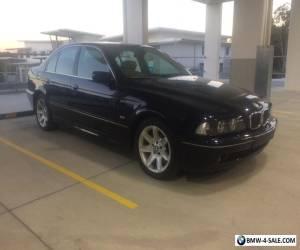 2001 BMW 535i Sedan Metallic Blue 3.5L V8. Safety Certificate No Reserve  for Sale