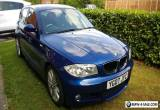 STUNNING BMW 1 SERIES 118I M-SPORT ESTORIL BLUE for Sale
