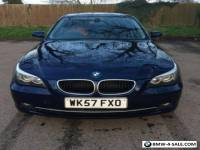 2007 57 BMW 520d lci face lift model manual diesel blue