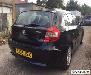 2005 BMW 1 SERIES 120D DIESEL SPORTS BLACK 5 DOOR 6 SPEED QUICKSALE for Sale
