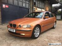 BMW 318ti COMPACT 3 SERIES,1 YEARS MOT,FSH.2 LADY OWNERS,MAY PX CAR MOTORBIKE
