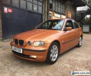BMW 318ti COMPACT 3 SERIES,1 YEARS MOT,FSH.2 LADY OWNERS,MAY PX CAR MOTORBIKE for Sale