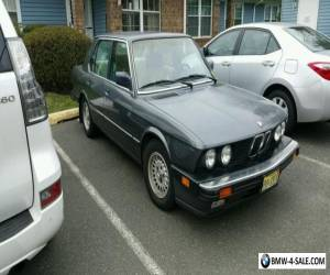 1987 BMW 5-Series for Sale