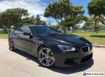 2013 BMW M6 EXECUTIVE PACKAGE TWIN TURBO 2DR for Sale
