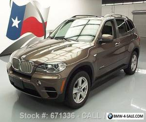 2012 BMW X5 XDRIVE35D DIESEL AWD PANO SUNROOF NAV for Sale
