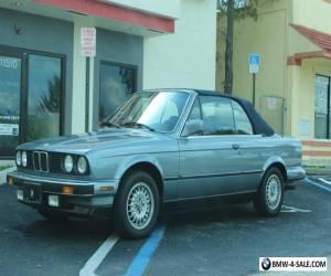1989 BMW 3-Series Base Convertible 2-Door for Sale