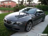 2010 BMW M6 M6