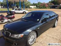 2008 BMW 7-Series Black