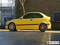 BMW E36 318ti compact msport, Drift, Daily, Dakar Yellow!