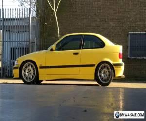 BMW E36 318ti compact msport, Drift, Daily, Dakar Yellow! for Sale
