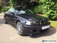2005 BMW M3 Cabriolet - Manual/19s/Immaculate - PLEASE READ
