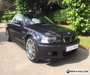 2005 BMW M3 Cabriolet - Manual/19s/Immaculate - PLEASE READ for Sale