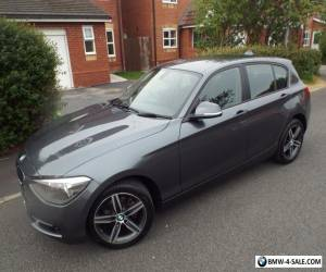 BMW 1 Series 2.0 116d Sport Sports Hatch 5dr (start/stop) for Sale