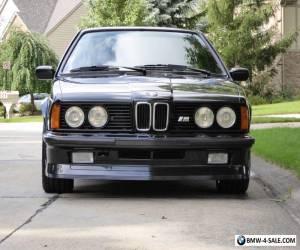 1985 BMW M6 ShadowLine for Sale