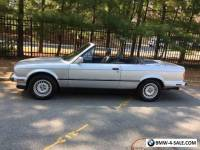 1991 BMW 3-Series Base Convertible 2-Door