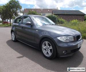 2005 BMW 1 SERIES 118D SPORT 2.0 DIESEL LEATHER MOT SERVICE HISTORY for Sale