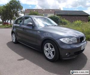 2005 BMW 1 SERIES 118D SPORT 2.0 DIESEL LEATHER MOT SERVICE HISTORY for Sale
