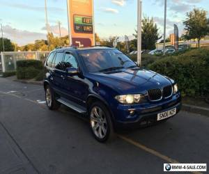 2006 BMW x5 Sport Exclusive Le Mans Blue 3.0d 12 MONTHS MOT, NEW TYRES may px for Sale