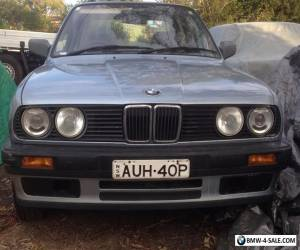 1990 bmw e30 good original unmolested reliable cheap to run 4 cylinder auto for Sale