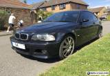 2004 54 Bmw e46 M3 Carbon Black SMG Sat Nav Harman Kardon HPI Clear Facelift  for Sale