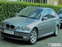 2003 BMW 316 ti se compact silver 1.8ltr