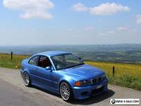 BMW E46 M3 IN ESTORIL BLUE WITH CINNAMON INTERIOR -SMG- FSH, MOT MARCH 2018