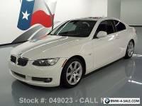 2010 BMW 3-Series 335I COUPE TURBO AUTO SUNROOF XENONS