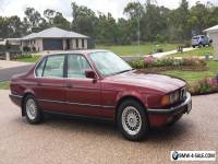 BMW 740IL 7 SERIES 1993 SEDAN MAROON COLOUR AUTOMATIC  IN VERY GOOD CONDITON