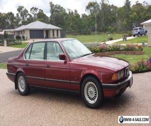 BMW 740IL 7 SERIES 1993 SEDAN MAROON COLOUR AUTOMATIC  IN VERY GOOD CONDITON for Sale
