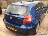 2006 BMW 1 SERIES 118D DIESEL 5 DOOR HATCHBACK QUICKSALE