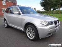 2008 BMW X3 2.0 20d M Sport 5dr FULL SERVICE HISTORY DIESEL STUNNING CAR LOOK
