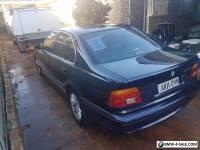 2001 BMW 5 Series Sedan