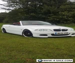 BMW E46 320i CONVERTIBLE for Sale