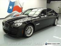 2015 BMW 7-Series 740LD XDRIVE AWD DIESEL M-SPORT SUNROOF NAV!!