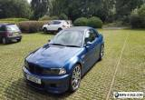 E46 BMW M3 convertible  for Sale