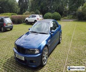 E46 BMW M3 convertible  for Sale