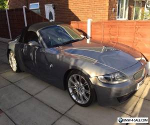 BMW Z4 2.0I SPORT MANUAL PETROL CONVERTIBLE - GREY for Sale
