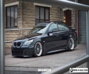 BMW 525D M SPORT SHOW CAR AIR SUSPENSION BAGGED for Sale