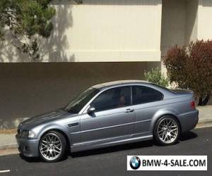 2006 BMW M3 ZCP Competition Package for Sale