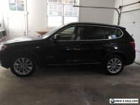 2012 BMW X3 BLACK