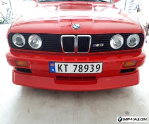 1989 BMW M3 Base Coupe 2-Door for Sale