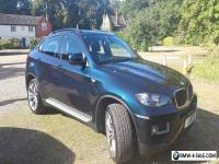2014 BMW X6 XDRIVE30D AUTO BLUE