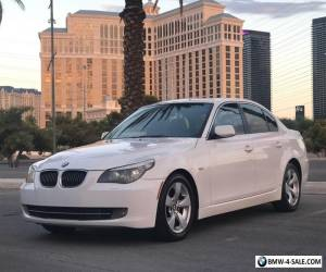 2008 BMW 5-Series Sedan 4-Door Sunroof Nav for Sale