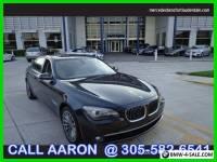 2011 BMW 7-Series CALL AARON 305-582-6541